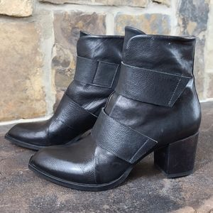 Coclico 38 7.5 Oryza Leather Velcro Strap Boots